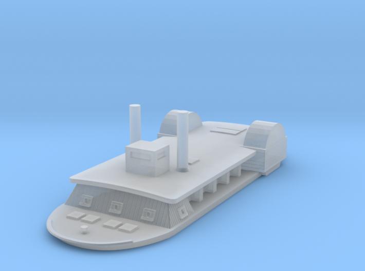 1/1000 USS Tuscumbia 3d printed