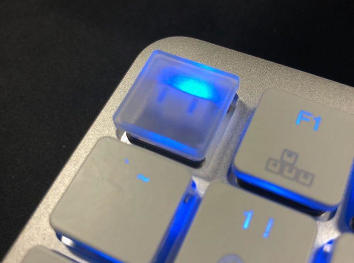 Kaihua Low Profile Keycap (primary keys) 3d printed Material shown is Smoothest Fine Detail Plastic