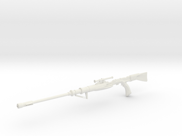 1:12 Miniature Tusken Sniper Rifle 3d printed