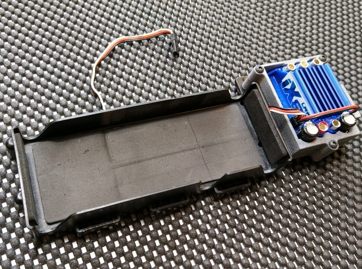 ESC Cage for LRP iX8 V2 Brushless Speed Control 3d printed