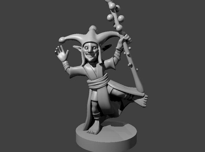 Goblin Jester 3d printed