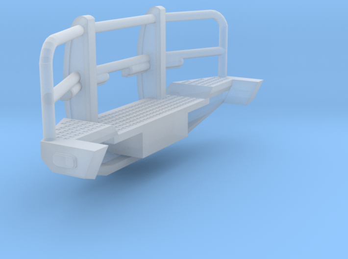 1/87th Heavy Pickup Off road bumper 7' wide 3d printed