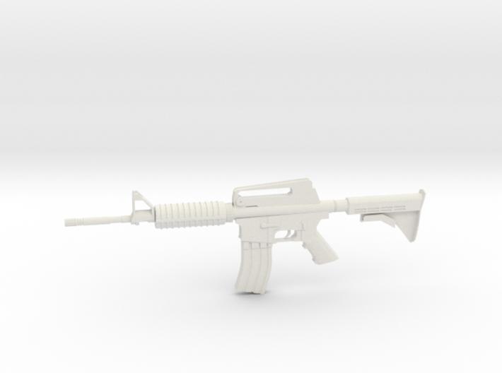 1:12 M16 Rifle 3d printed