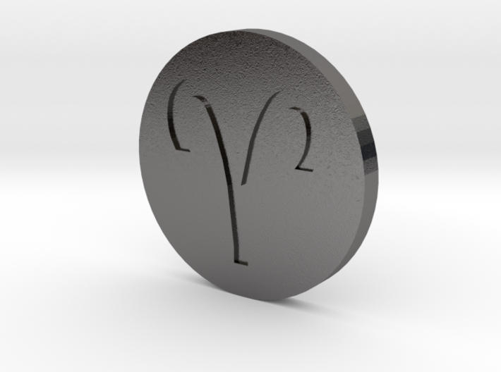 Aries Coin 3d printed
