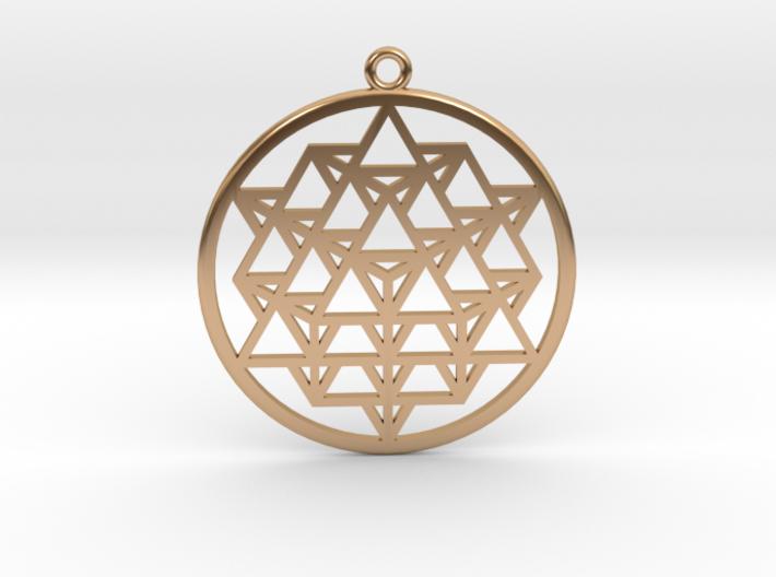 64 Tetrahedron Matrix 3d printed