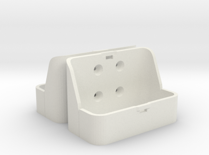 Two 1/16 scale Jerry Can Holders 3d printed