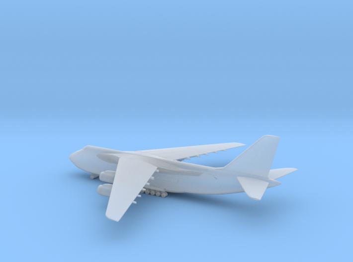 1/1250 AN-124 (landing gears down) 3d printed