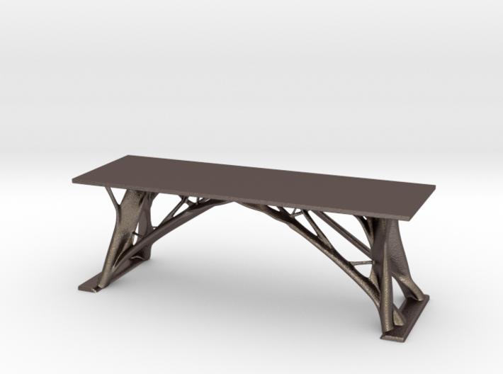 Generative Tree Table 3d printed