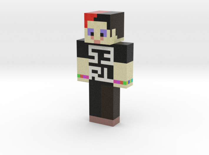 DJ S3RL | Minecraft toy 3d printed