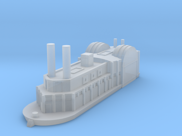 1/1200 USS Switzerland 3d printed