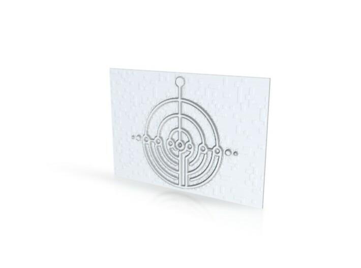 Symbol 3d printed