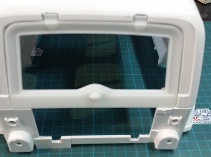Tamiya Jeep YJ/CJ Rear Window 3d printed