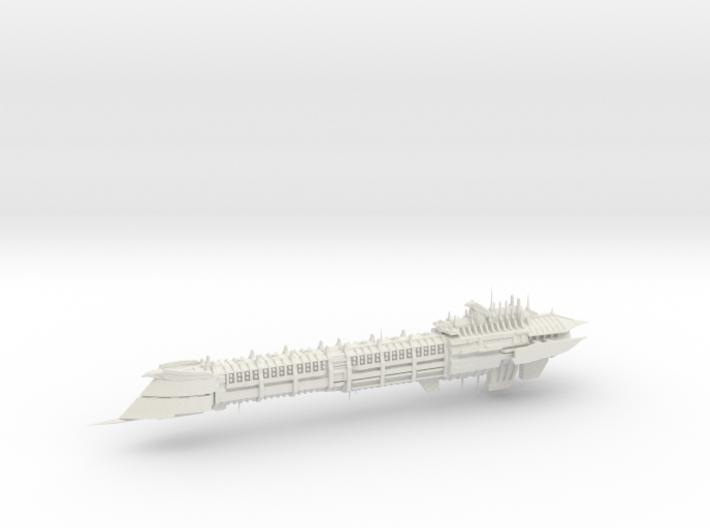 Imperial Legion Long Cruiser - Armament Concept 14 3d printed