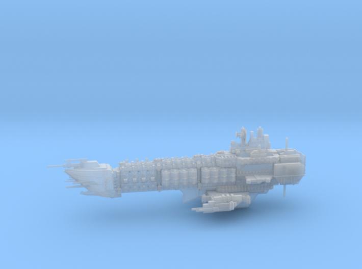 Navy Alternative Capital Cruiser - Concept 2 3d printed