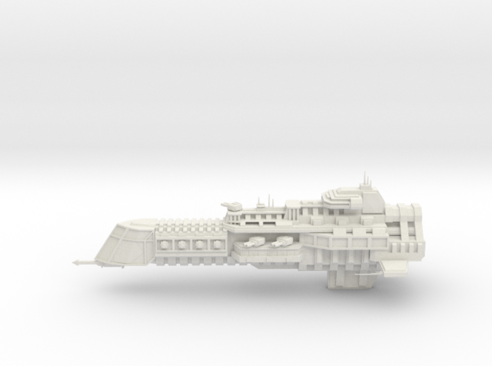 Imperial Legion Cruiser - Concept 3 3d printed