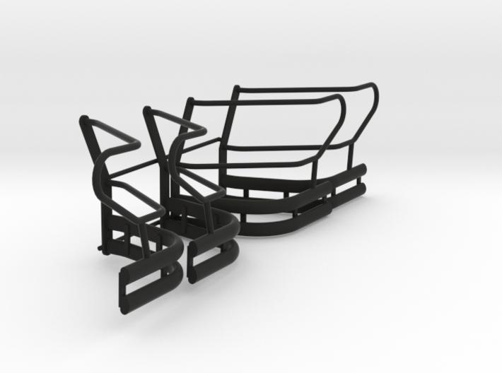 1-18_explorer_push_bumper_pit_wing 3d printed