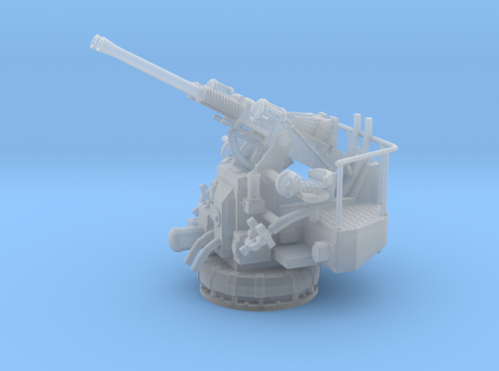 1/56 USN 40mm Twin Bofors Elevated 3d printed