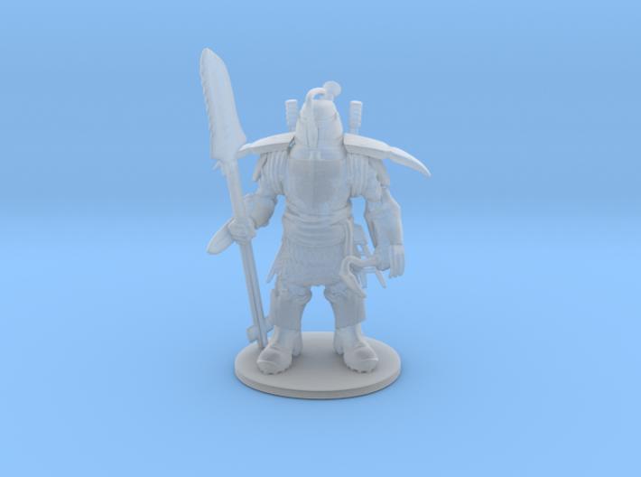 Garden Tool Knight 3d printed