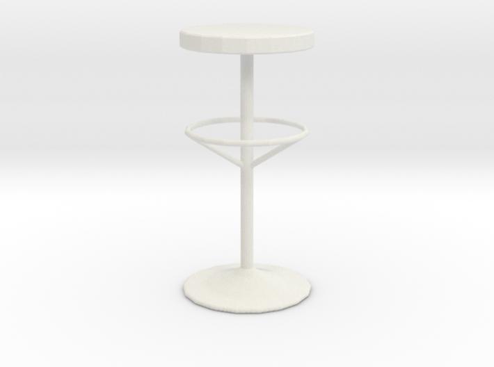 Printle Thing Bar stool - 1/24 3d printed