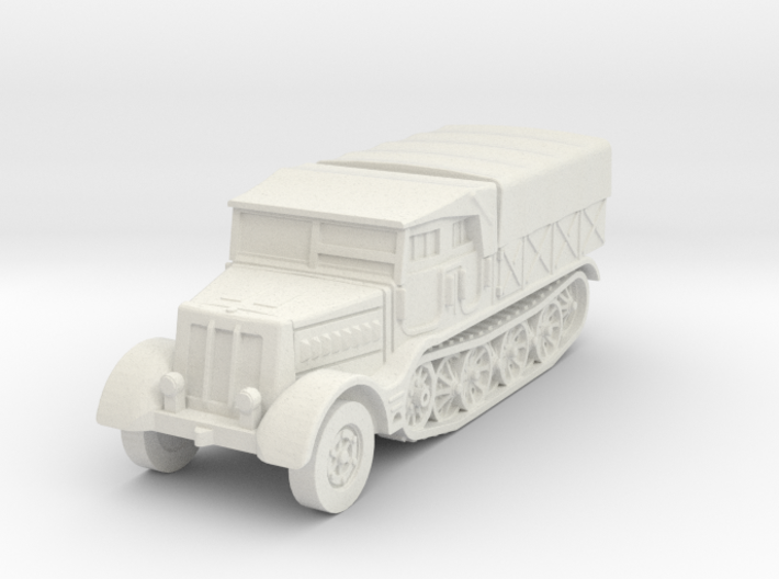 Sdkfz 9 FAMO (covered) 1/87 3d printed