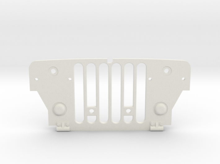 Tamiya Wild Willy Grill 3d printed