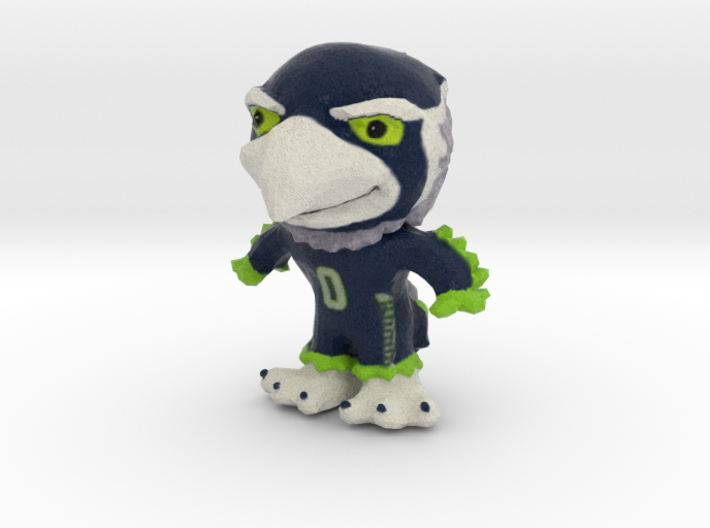Blitz - The Seattle Seahawks mascot 3d printed Seattle Seahawks mascot- Blitz