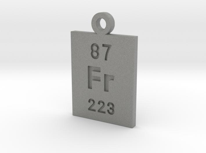 Fr Periodic Pendant 3d printed