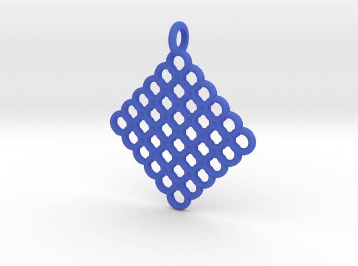 Torus Web Pendant 3d printed