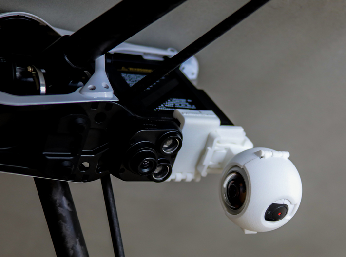 DJi Inspire 1 Bottom Mount 3d printed