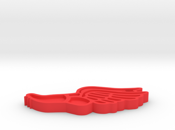 Track & Field Keychain (2019) 3d printed