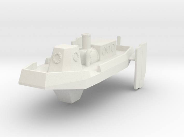Steam Launch 300 3d printed