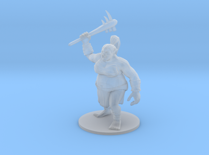 Female Ogre 3d printed