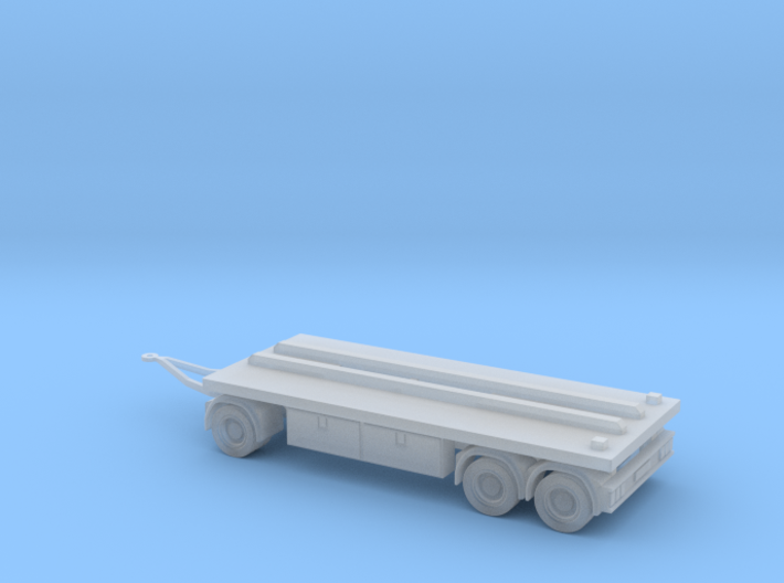 N 20ft Container Trailer 2 3d printed
