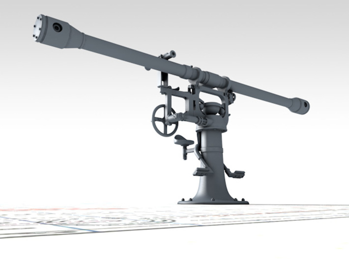 1/35 Royal Navy 12ft Rangefinder Type F.Q.2 x1 3d printed 3d render showing product detail