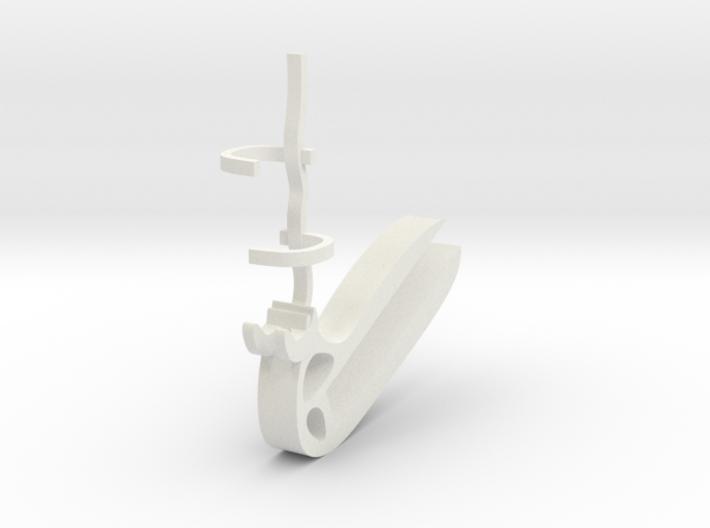 Halter für Diktafon Philips Voicepoint / Mount for 3d printed
