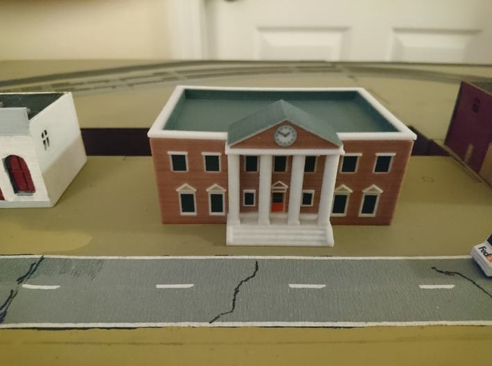 County Courthouse - Zscale 3d printed Photo by Charles Jantzen