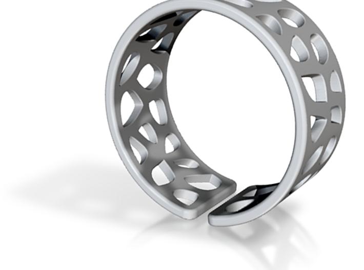 Ring Voronoi1 3d printed