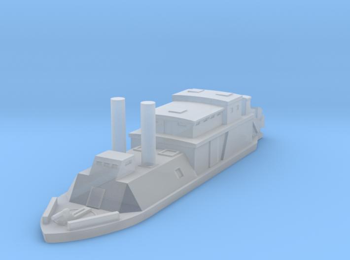 1/1000 USS Barataria 3d printed