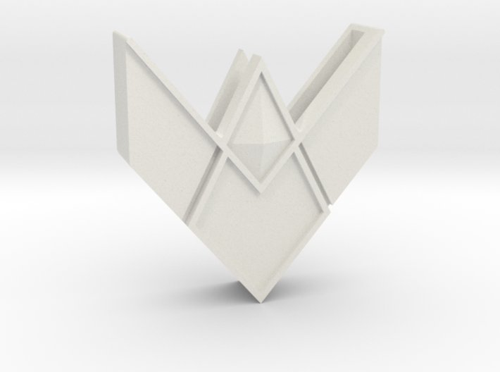 Wonder Woman Harness part - End part 3d printed