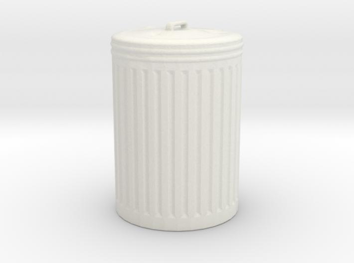 Printle Thing Trash Bin - 1/24 3d printed