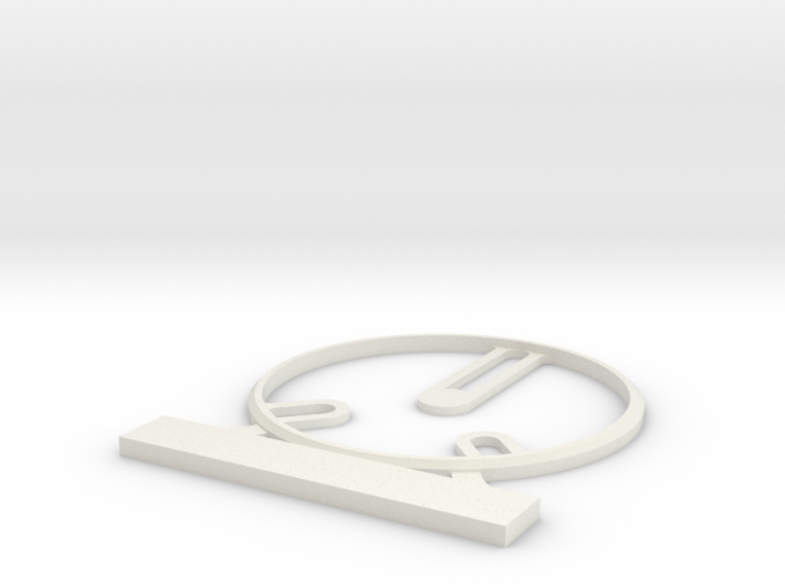 Customizable Hero Base 40 mm 3d printed