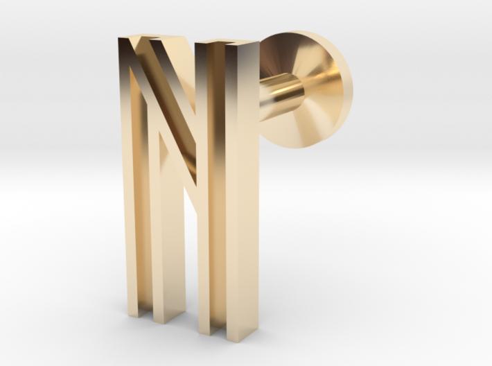 Letter N 3d printed