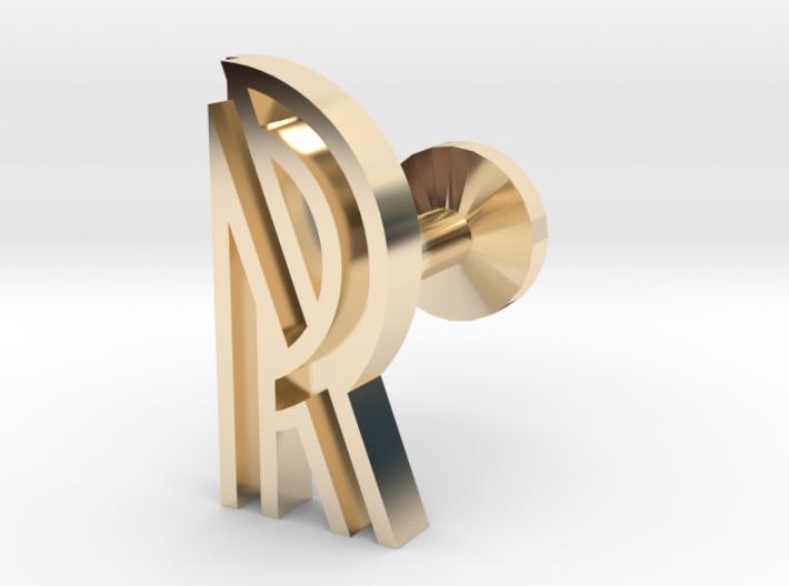 Letter R 3d printed