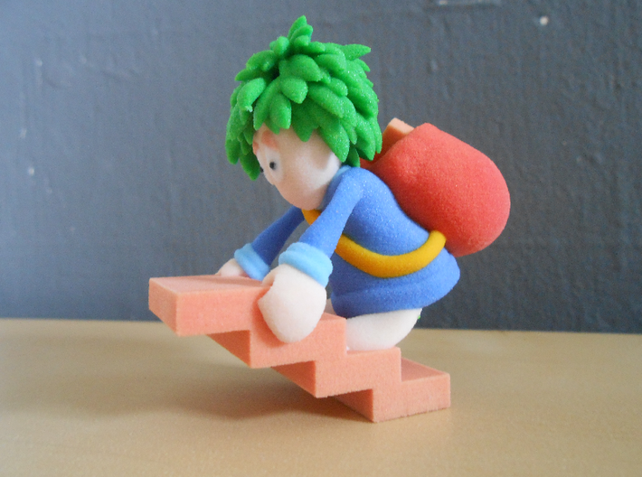 Lemming Builder (Large and in Color) 3d printed Thanks to NieSch for the pictures