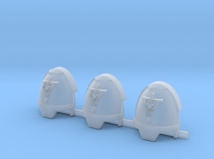 Virgilius Campaign Gravus shoulder pads x3 R 3d printed