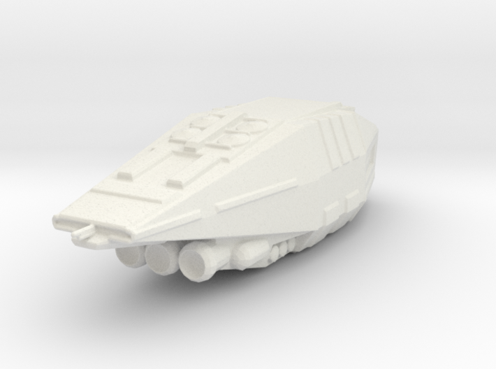 Imperial escort carrier  1/7000th scale 3d printed