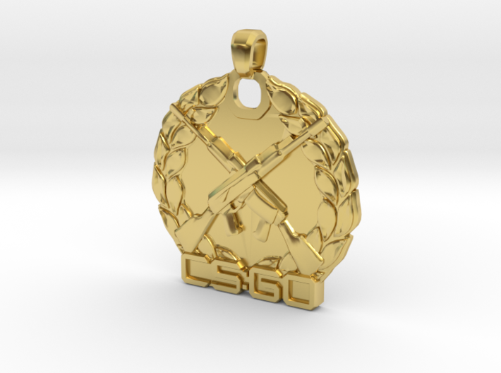 CS:GO - Master Guardian Elite Pendant 3d printed
