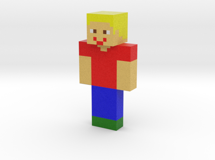 vojta | Minecraft toy 3d printed