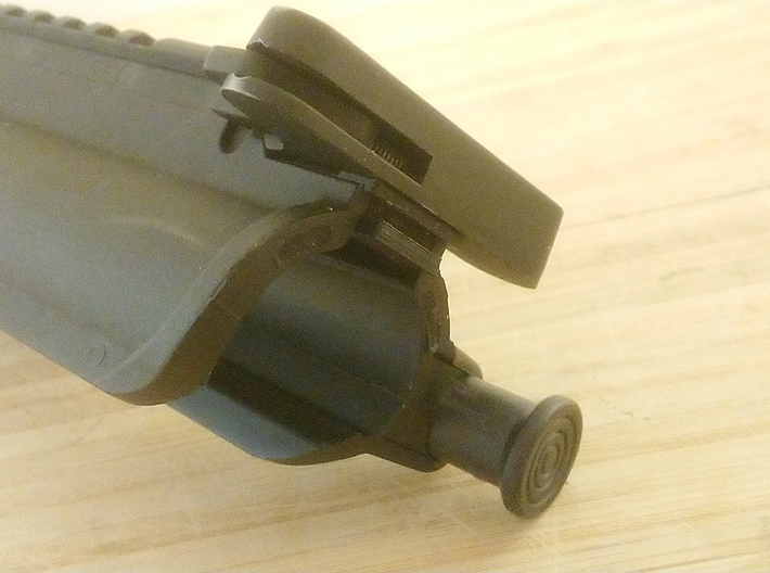M4 Upper and Lower Receiver Securing Bracket 3d printed