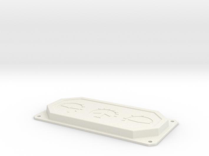 T6 Trim Control Panel insert 3d printed
